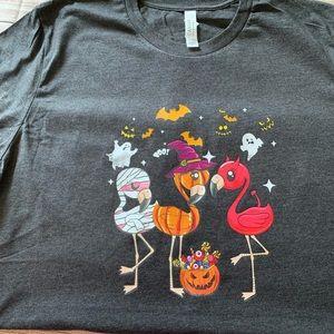 Halloween Flamingo Tee